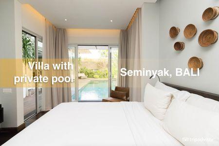 Seminyak villas with private pool in Bali