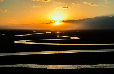 Sunset hunting travel destinations