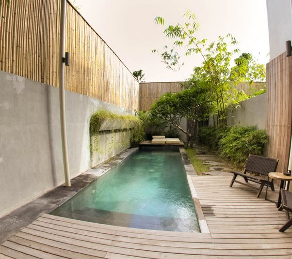 4 bedroom villa at Seminyak with pool fence and near the Seminyak Square