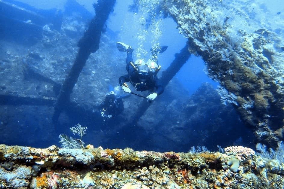 Wreck Diving Bali: an exceptional experience