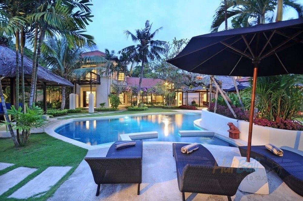 beach villa Bali to enjoy the nature and reduce psychological pressure