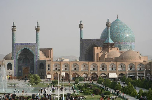 "Visit the country in the Gulf, ""Republic of Iran"""